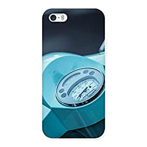 Enticing Scooter Meter Multicolor Back Case Cover for iPhone 5 5S