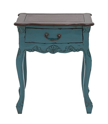 Deco 79 Wood Accent Table, 19 by 24-Inch