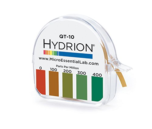 hydrion-qt-10-papers-quaternary-ammonium-sanitizer-single-roll-test-kit-use-with-steramine-other-qua