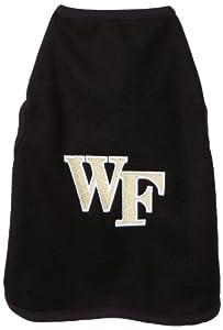 NCAA Wake Forest Demon Deacons Polar Fleece Dog Sweatshirt, Tiny by All Star Dogs
