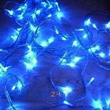 GudCraft® Solar Powered Christmas Lights String Light 100 LED Blue