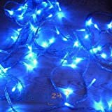GudCraft Solar Powered Christmas Lights String Light 100 LED Blue