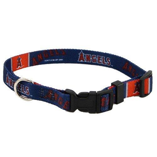 Hunter MFG Los Angeles Angels Dog Collar, Extra Small hunter mfg los angeles angels dog collar extra small