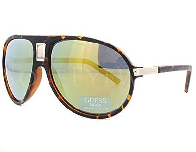 Guess 6789 Mens Aviator Full-rim 100% UVA & UVB Lenses Sunglasses/Shades