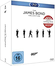 The James Bond Collection: Alle 23 Filme inkl. Leerplatz für Spectre (24 Discs) [Blu-ray]