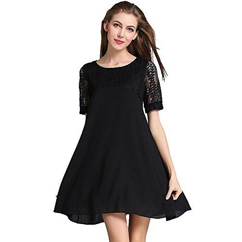 foru-dress-vestito-donna-nero-xx-large
