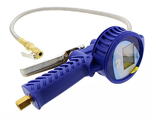 Astro 3018 Digital Tire Inflator with Stainless Steel Braided Hose (Air Pressure Gauge Digital compare prices)