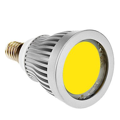Luo E14 7W 1Xcob 600-630Lm 6000-6500K Cool White Light Led Spot Bulb (85-265V)