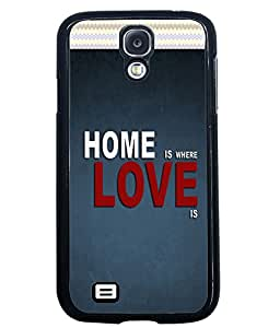 Printvisa 2D Printed Quotes Designer back case cover for Samsung Galaxy S4 SM - I9505 - D4487