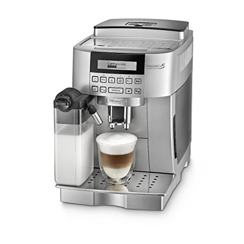 DeLonghi ECAM22360 Bean to Cup Super Fully Automatic Italian Espresso Machine with Auto-Cappuccino System (Silver) (Delonghi Retro Toaster Oven compare prices)