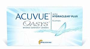 Acuvue Oasys 2-Wochenlinsen weich, 6 Stück / BC 8.4 mm / DIA 14.0 / -3,00 Dioptrien