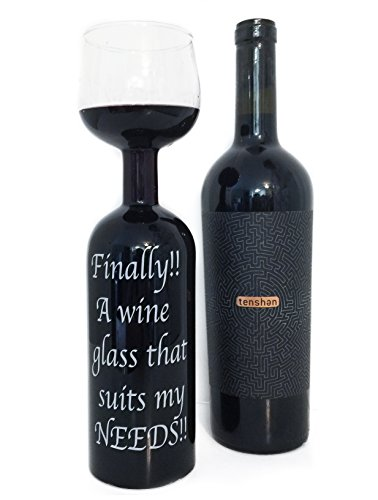Finally!! A Wine Glass That Suits My NEEDS! Wine/Glass Bottle.