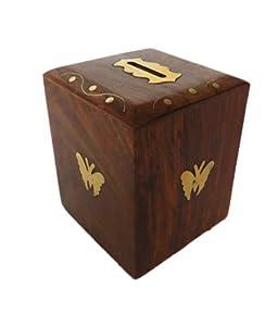 Buy Pindia Money Bank Box Kids Piggy Wooden Gift Item Home
