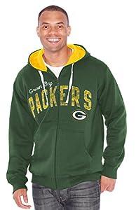 "Green Bay Packers NFL G-III ""Bring It"" Full Zip Hooded Sweatshirt from G-III Sports"
