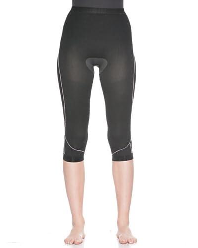 Salewa Pantalone Seamless W 3/4 [Nero]