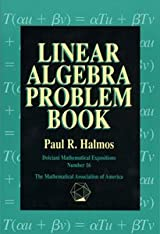 LINEAR ALGEBRA PROBLEM BOOK