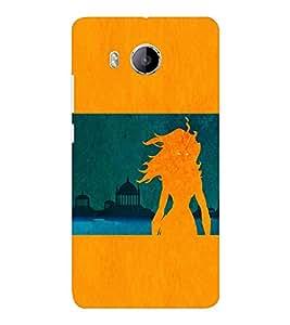EPICCASE the fiery beauty Mobile Back Case Cover For VIVO X shot (Designer Case)