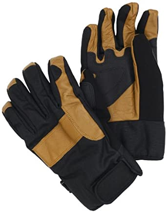 Carhartt Men's Chill Stopper Waterproof Insulated Work Glove, Black/Barley, X-Large