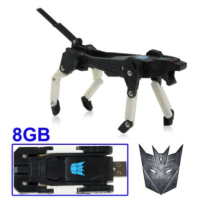 8G USB 2.0 Transformer Flash Memory Drive / USB Flash Drive Transformers style - A Fantastic Gift for Any College Student,Computer Geek,Any Transformer Fan by SuntekStore Online