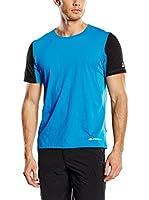 Alpine Pro Camiseta Manga Corta Kastor (Azul Medio)