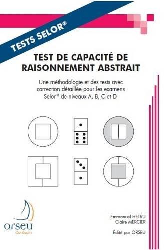 Test de capacité de raisonnement abstrait : Préparation aux examens de la fonction belge, Selor
