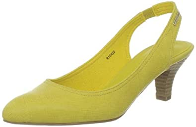 Esprit Pixie, Sandales femme - Jaune (757 Daffodil Yellow), 38 EU