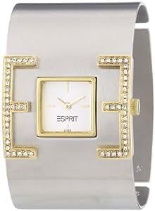 Esprit Damen-Armbanduhr E-Motion Silber-Gold ES101712002