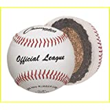 Champion Sports Official League Premium Leather Baseball (Set Of 12) [Misc.]