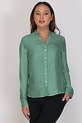 Kaaryah - Green Full Sleeves Shirt