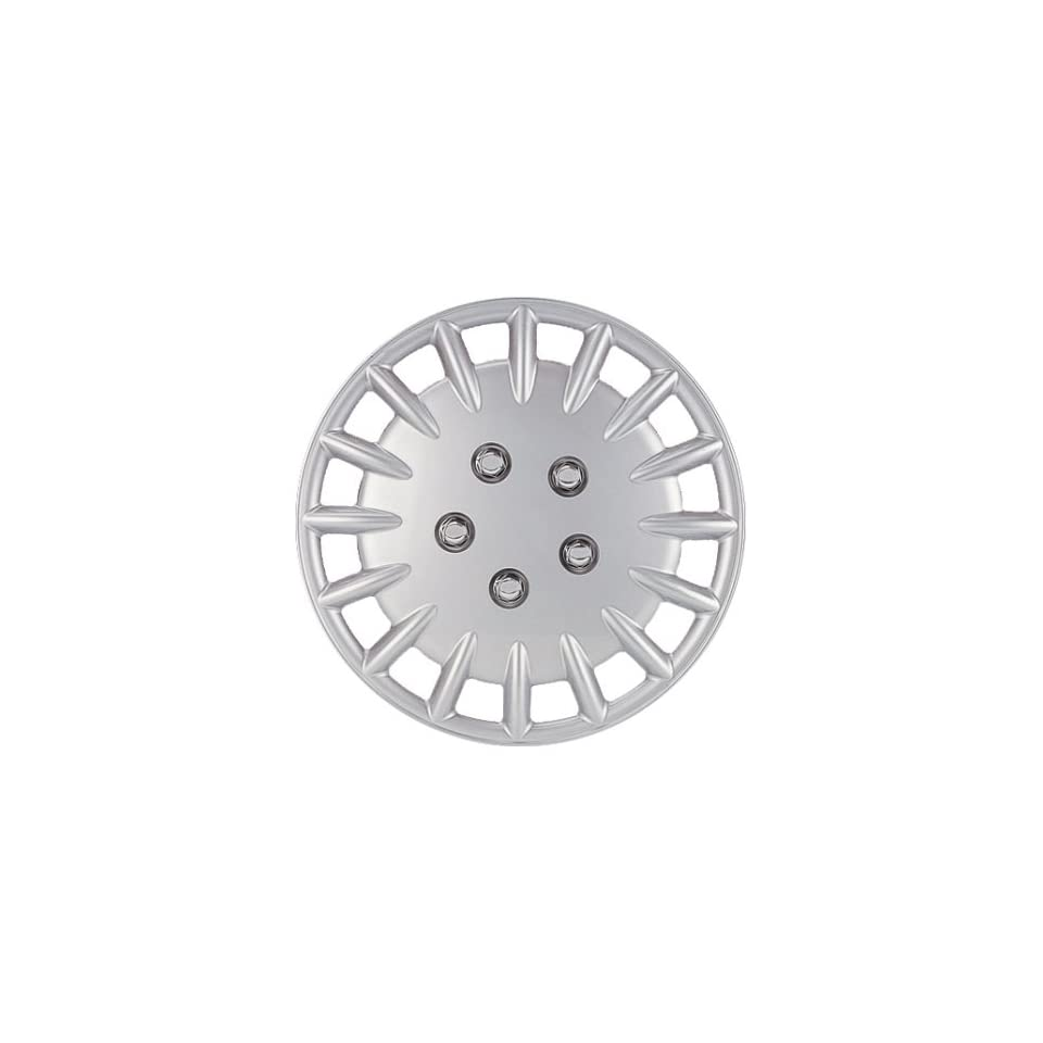 Drive Accessories KT906 14SL PC 14 Inch Plastic Wheel Cover, Silver Lacquer (Alloy Color), Single Piece