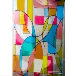 039334 rotolo adesivo pellicola decorativa per vetri e - Pellicola adesiva colorata per mobili ...