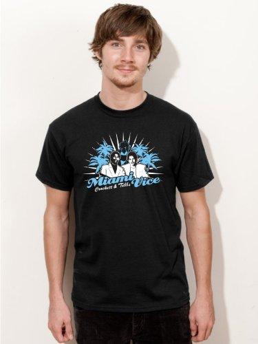 BIGTIME T-Shirt Miami Vice Kult Serien Shirt E71 - Gr. XXL