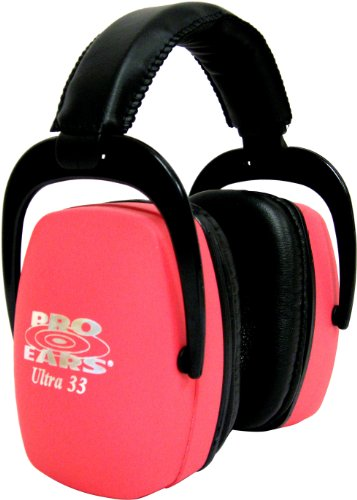 Pro Ears Ultra 33 Passive Hearing Protection (Pink)