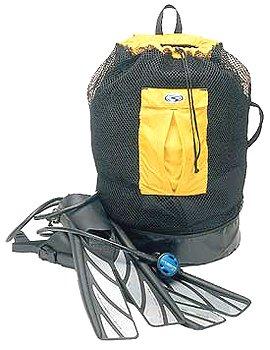 Cheap Stahlsac Bonaire Original Mesh BackPack with Dry Pocket Tote Gear Bag Dry Bag Beach Bag Scuba Dive Diving Diver Snorkel Snorkeling Kayak Jet Ski Rafting River Boat Boating Sailing Sail Swim Swimming Gear (B001MT3ORY)
