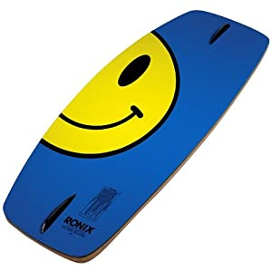 Ronix 2013 Hover Board Sintered (Zip-A-Dee-Doo-Blue/Happy Yellow) Wakeskates