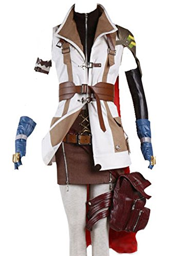 CosplaySky Final Fantasy Costume XIII FF 13 Lightning Cosplay Halloween Full Set