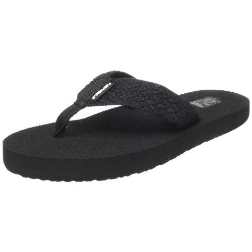 Teva Women's Mush II Flip Flop,Tread Black,9 M US