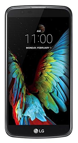 """LG K10 Smartphone, Display IPS 5.3"""" HD, 4G LTE, Fotocamera 13MP con frontale 5MP, Memoria interna 16 GB, 1.5 GB RAM, Nero [Italia]"""