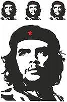 Contours d'autocollant 'Che Guevara', Set de 4