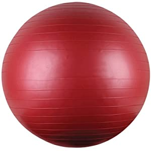 85Cm Yoga/Fitness Ball With Instructional Dvd -Affordable Gift for your Loved One! Item DCHI-GBL-85