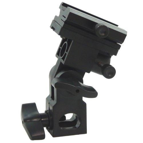 DynaSun SA35RA Adattatore Orientabile Professionale per Flash a Slitta, Attacco Standard Hot Shoe, Multicolore