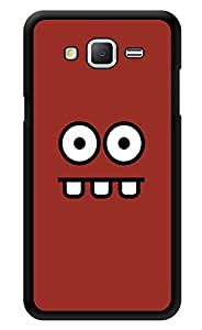"""Humor Gang Big Eyes And Mouth Printed Designer Mobile Back Cover For """"Samsung Galaxy j2"""" (2D, Glossy, Premium Quality, Protective Snap On Slim Hard Phone Case, Multi Color)"""
