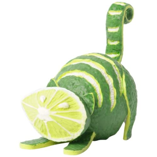 Amazon.com - Enesco Home Grown Lime Cat Figurine, 3-Inch - Collectible