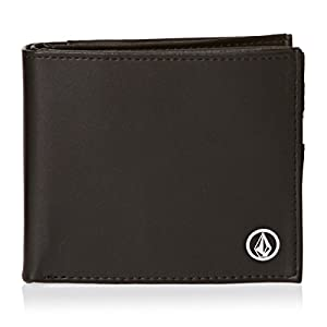 Volcom portafoglio uomo corps wallet s nero black for Portafoglio uomo amazon