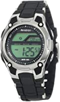 Armitron Unisex 456984BLK Sport Chronograph Black Strap Digital Display Watch by Armitron