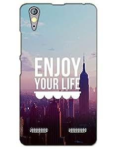 AT Shopping Lenovo A6000Back Cover Designer Hard Case Printed Mobile Cover