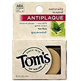 Tom's Of Maine Naturally Waxed Anti-Plaque Flat Floss Spearmint - 32 Yards