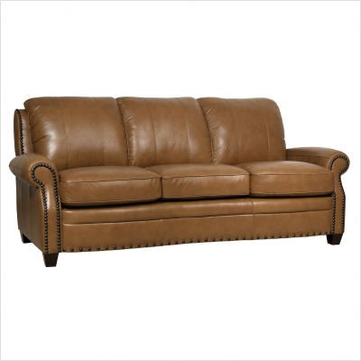 Buy Low Price Luke Leather Bennett Italian Leather Sofa and Loveseat Set (Bennett-Wheat 2552-Sofa)