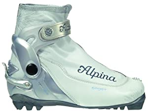 Buy Alpina Ladies S Combi Eve Sport Series Cross-Country Nordic Ski Boots by Alpina