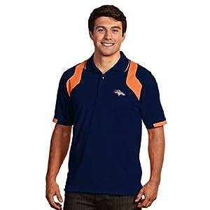 Denver Broncos Fusion Polo (Team Color) by Antigua